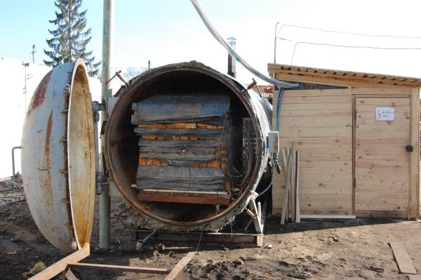Камера вакуумной сушки древесины КВС
