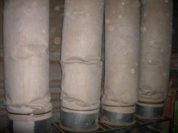 Фильтр рукавный Эковент для шлифовального оборудования