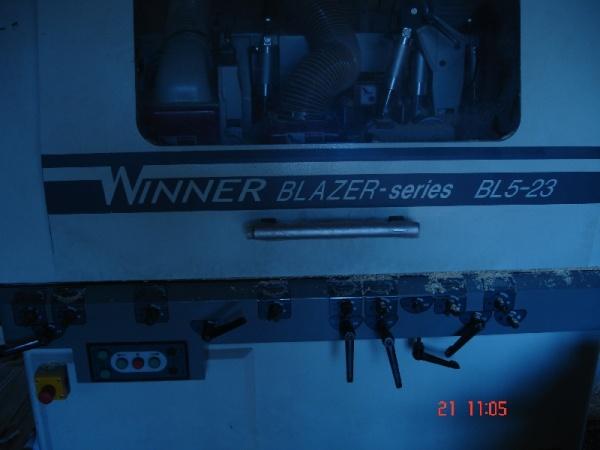 Четырехсторонний станок для погонажа и бруса WINNER  BL 5-23