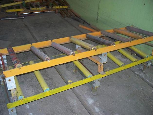 Рольганги напольные неприводные (ширина рольганга 600 мм)