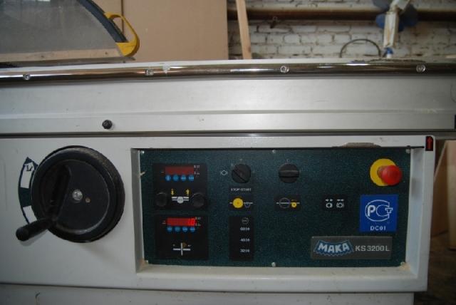 Станок форматно-раскроечный КS-3200 МАКА