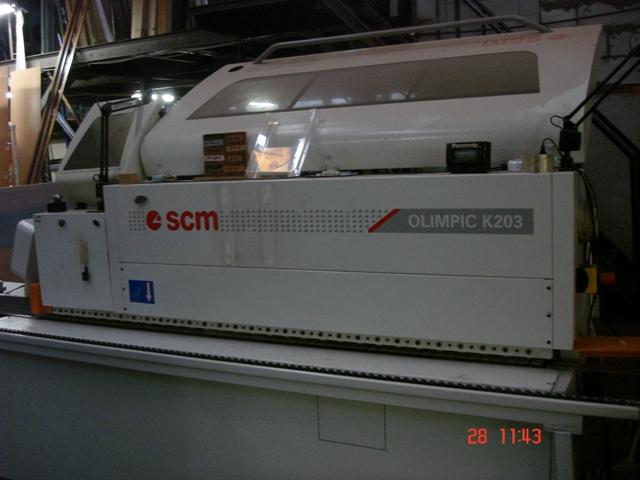 Кромкооблицовочный станок Olimpic K 203 E