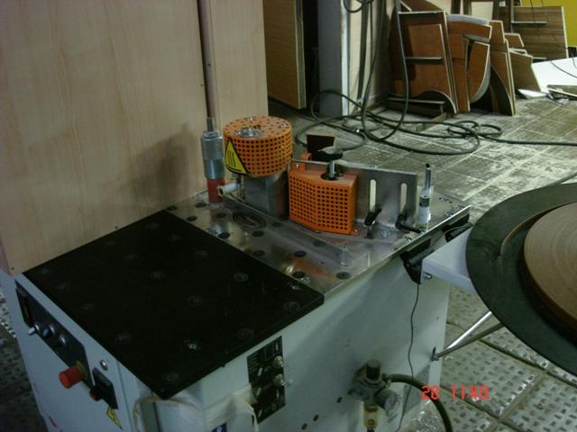 Кромкооблицовочный станок Olimpic M 80 %2B Станок для снятия свесов Olimpic M 80Т