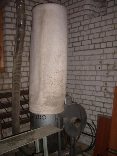 Пылеулавливающий агрегат ПП-2000