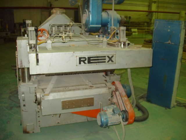 Четырехсторонний строгальный станок REX HOMS-760 (A+DA+VA)