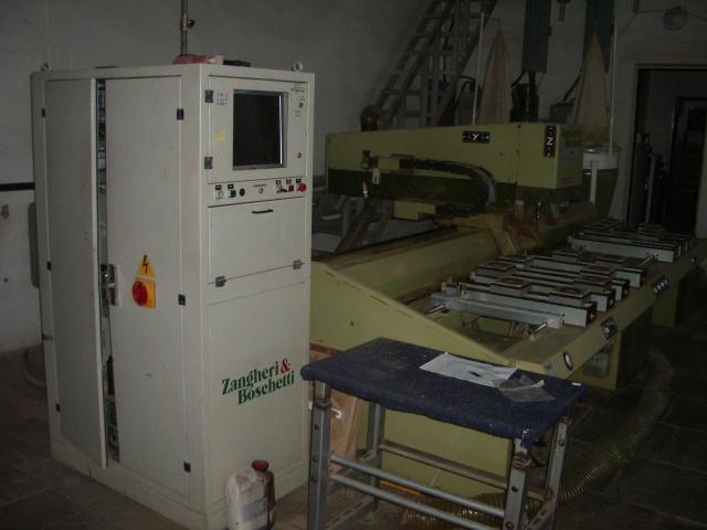 Копировально-фрезерный станок с ЧПУ ZANGHERI BOSCHETTI PROJECT 316