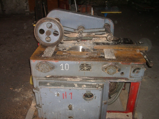 Станок диленно-реечный с ролико-дисковой подачей ЦА-2А
