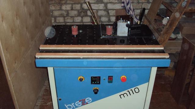 Кромкооблицовочный станок Breze m110