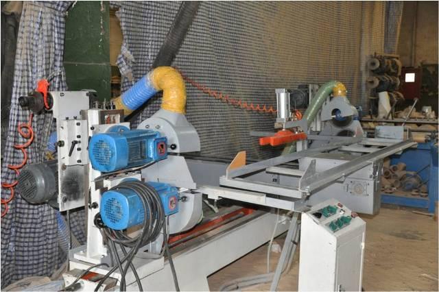 Станок торцовочно-фрезерный с двухсторонним расположением пильных суппортов поступательно-возвратного типа (автомат)