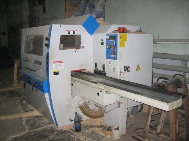 Четырехсторонний станок WEINIG Unimat 500