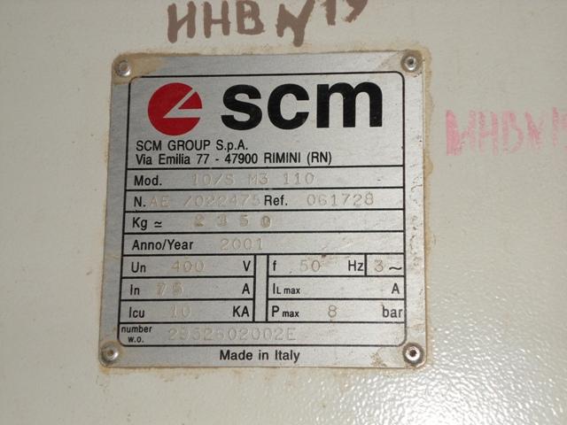 Станок калибровально-шлифовальный SCM SANDYA 10 S