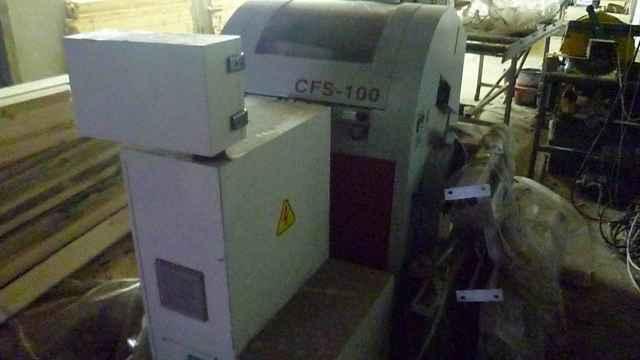 Торцовочный станок (оптимизатор) проходного типа CFS-100