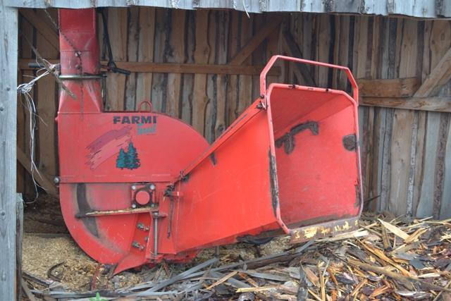 Рубительная машина Farmi Forest СН 260