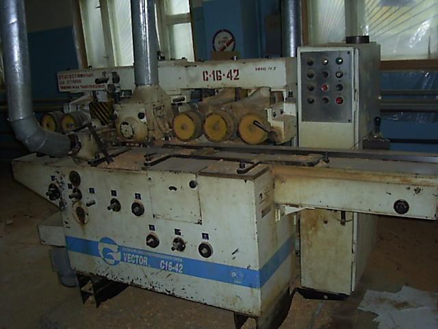 Четырехсторонний станок С16-42