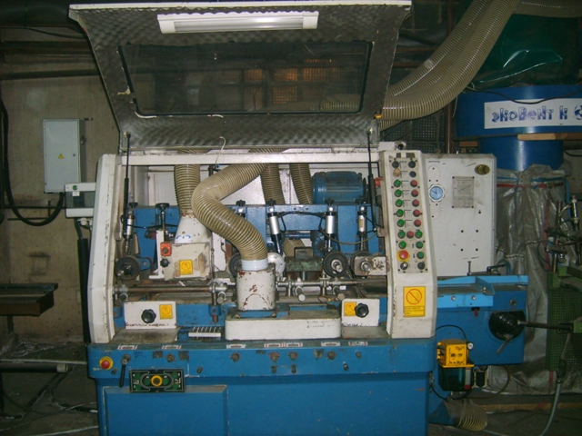 Четырехсторонний фрезерно-калевочный станок GUBISCH  NMP  220-5
