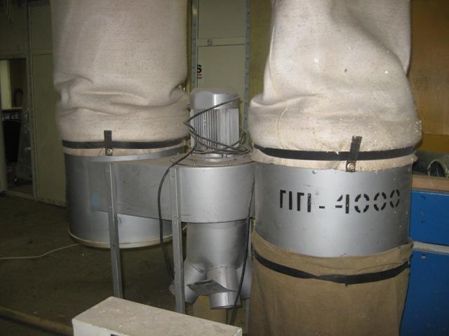 Пылеулавливающий агрегат ПП-4000