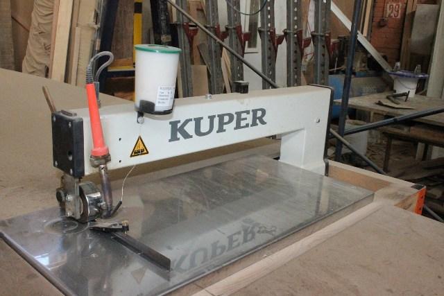 Ребросклеивающий станок с продольной подачей KUPER FW/M-630 T