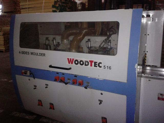 Четырехсторонний станок WOODTEC 516