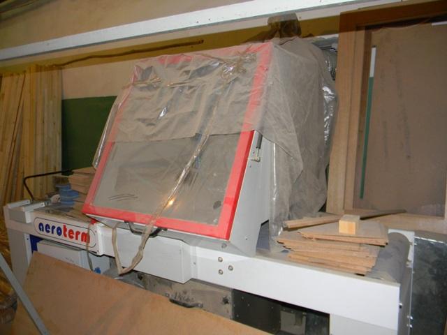 Станок покрасочный для погонажа проходного типа Aeroterm