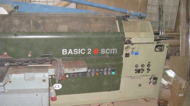 Кромкооблицовочный станок SCM BASIC 2
