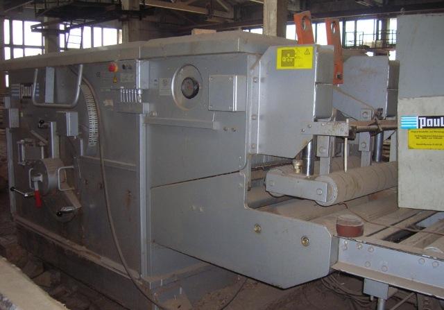 Тяжелый многопильный станок Paul S 900