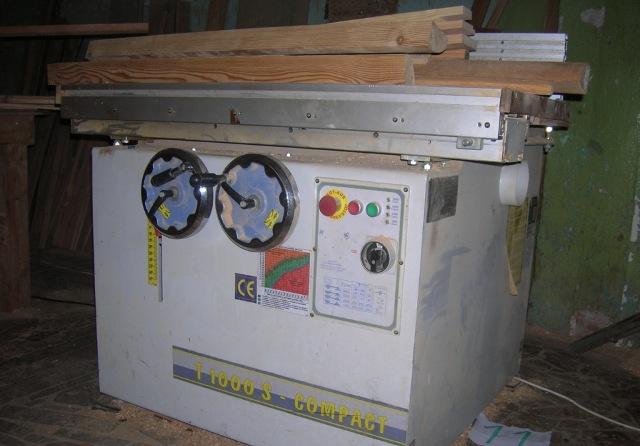 Станок фрезерный с шипорезной кареткой T1000S COMPACT