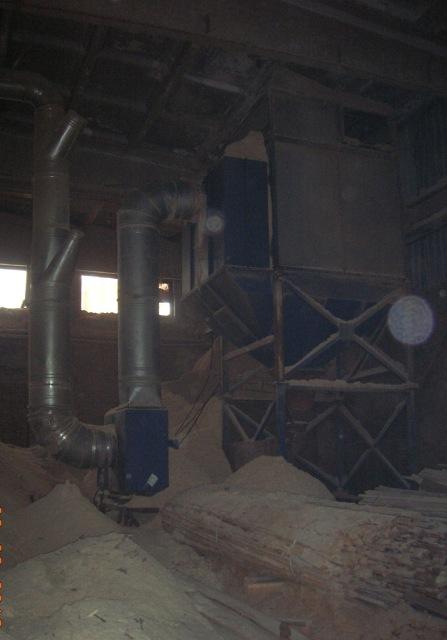 Система аспирации с рукавным фильтром ФР-20 и бункером-накопителем