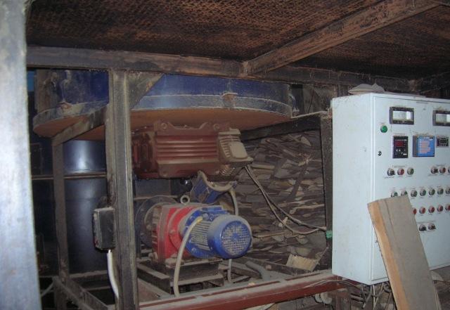 Механизированный твердотопливный водогрейный котел КВД-1,6