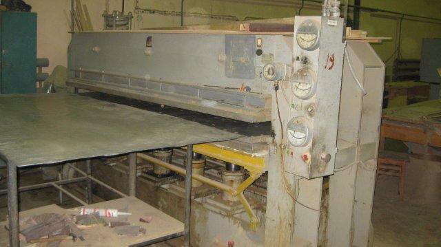 Пресс специальный гидравлический с электроподогревом ПСГЭ-2М