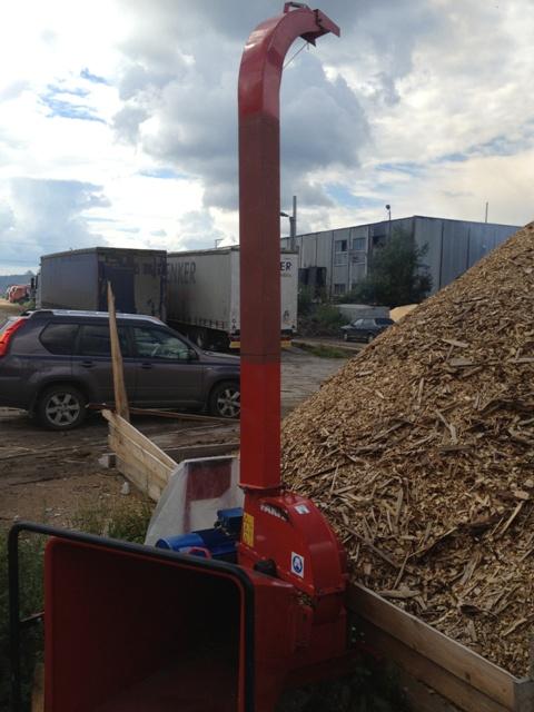 Рубительная машина FARMI FOREST СН 160