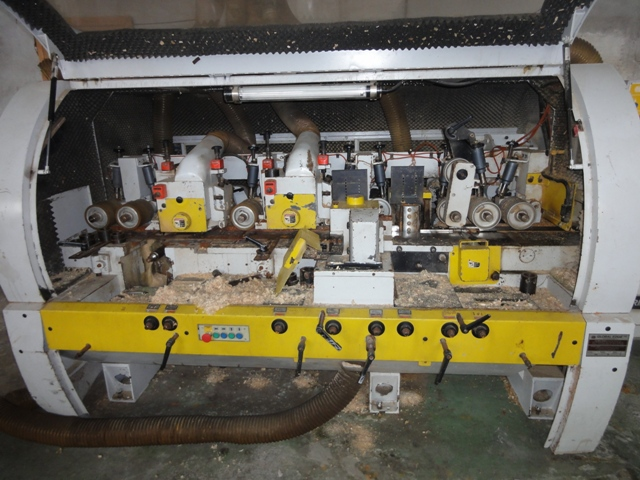 Четырехсторонний строгально-калевочный станок LEADERMAC LMC 623C