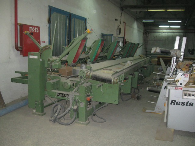 Многопильный торцовочный станок KALLFASS RA-6000-6