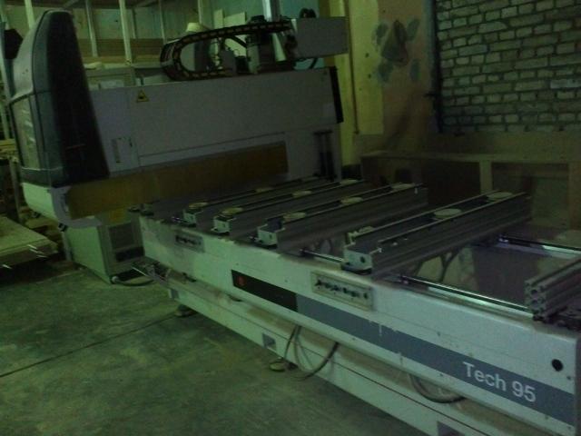 Обрабатывающий центр с ЧПУ SCM Tech 95 L