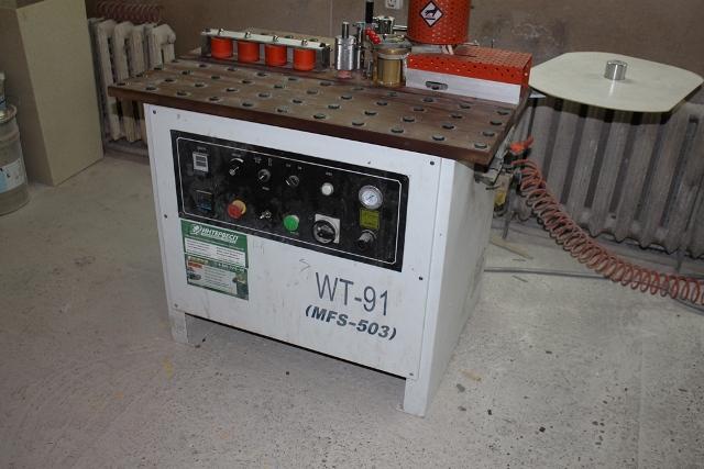 Кромкооблицовочный станок MFS-503T  (WT-91)