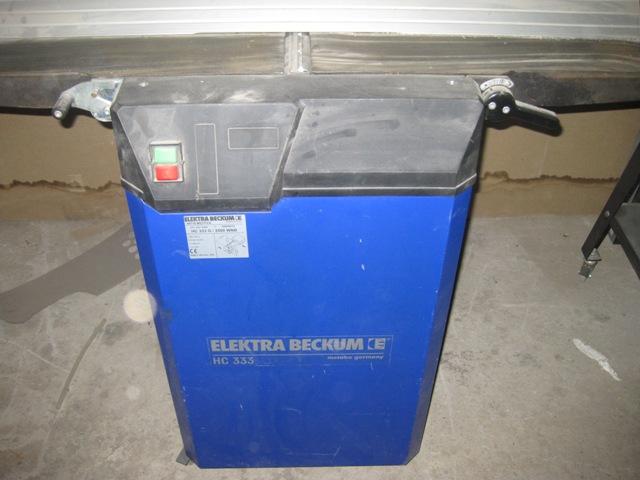 Станок фуговально-рейсмусовый METABO ELEKTRA BECKUM HC 333 G