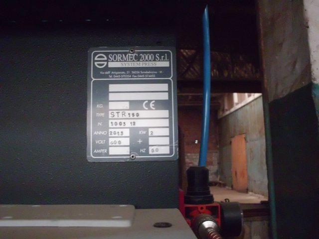 Вайма для изготовления клееной продукции SORMEC 2000 S.r.l. STR 150