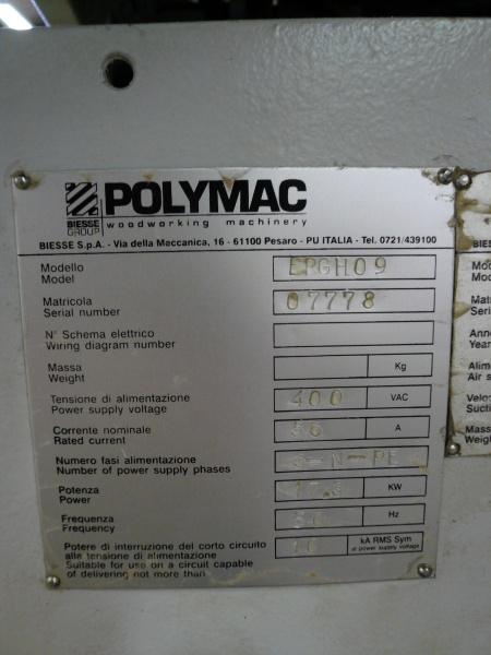 Кромкооблицовочный станок Polymac ERGHO 9