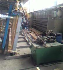 Пресс пневмогидравлический для склеивания бруса VESP 6000%2F1350-250