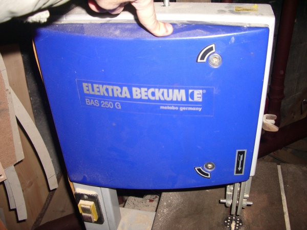 Ленточная пила Elektra Beckum BAS 250 G