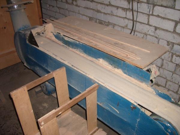 Ленточно-шлифовальный станок ШЛПС-2