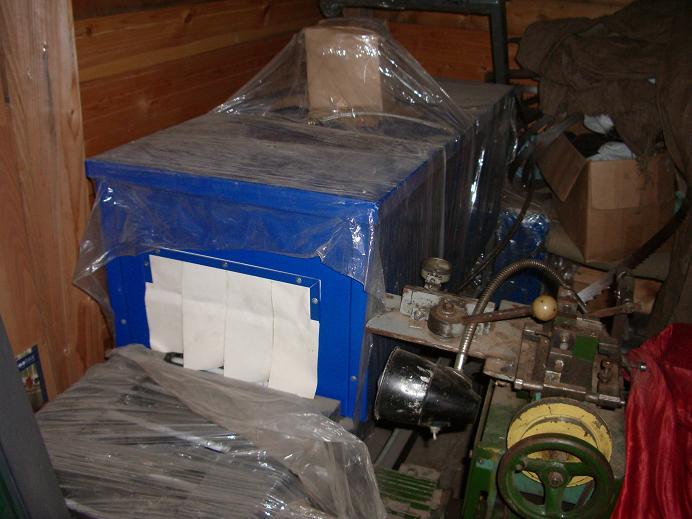 Станок для упаковки в термоусадочную пленку МП-3Д