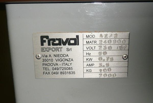 Кромкооблицовочный станок Fravol A16%2FS %2B Кромкооблицовочный станок для снятия свесов Fravol AZ%2F2