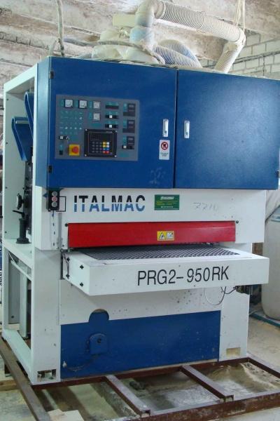 Шлифовально-калибровальный ITALMAC PRG2-950 RK