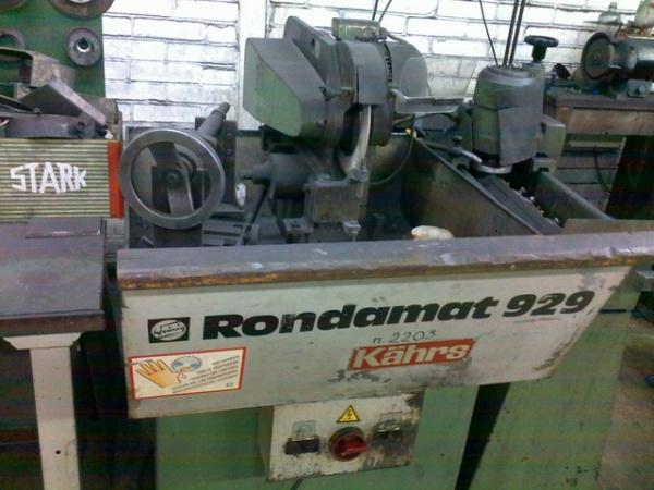 Заточной станок для фигурных и прямых ножей Rondamat 929
