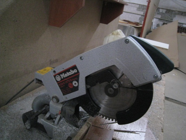 Торцовочная пила Metabo KGS E 1670 S-Signal