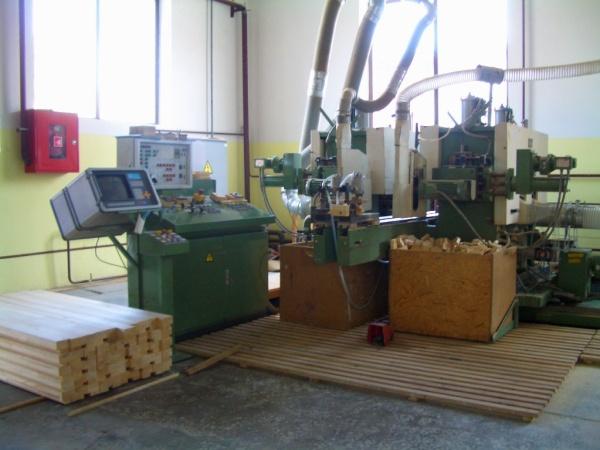 Линия по производству и выпуску деревянных евроокон