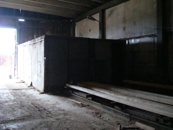 Сушильная камера 8 м3 на древесных отходах
