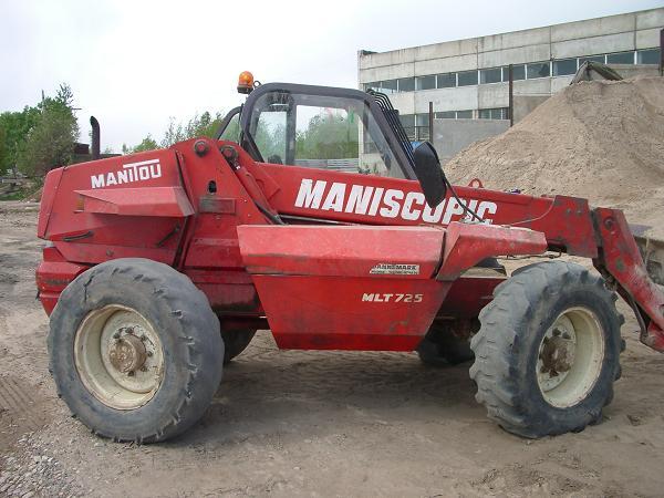 """Автопогрузчик с вилочным захватом """"MANITOU"""" MLT-725"""