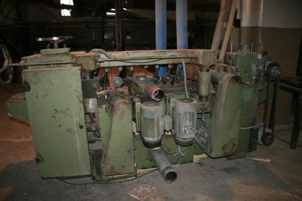 Четырехсторонний калевочный станок МВ 402